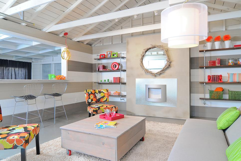 amazing garage living room | Search Viewer | HGTV