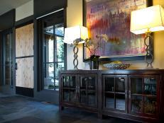 2014 HGTV Dream Home Neutral Transitional Foyer