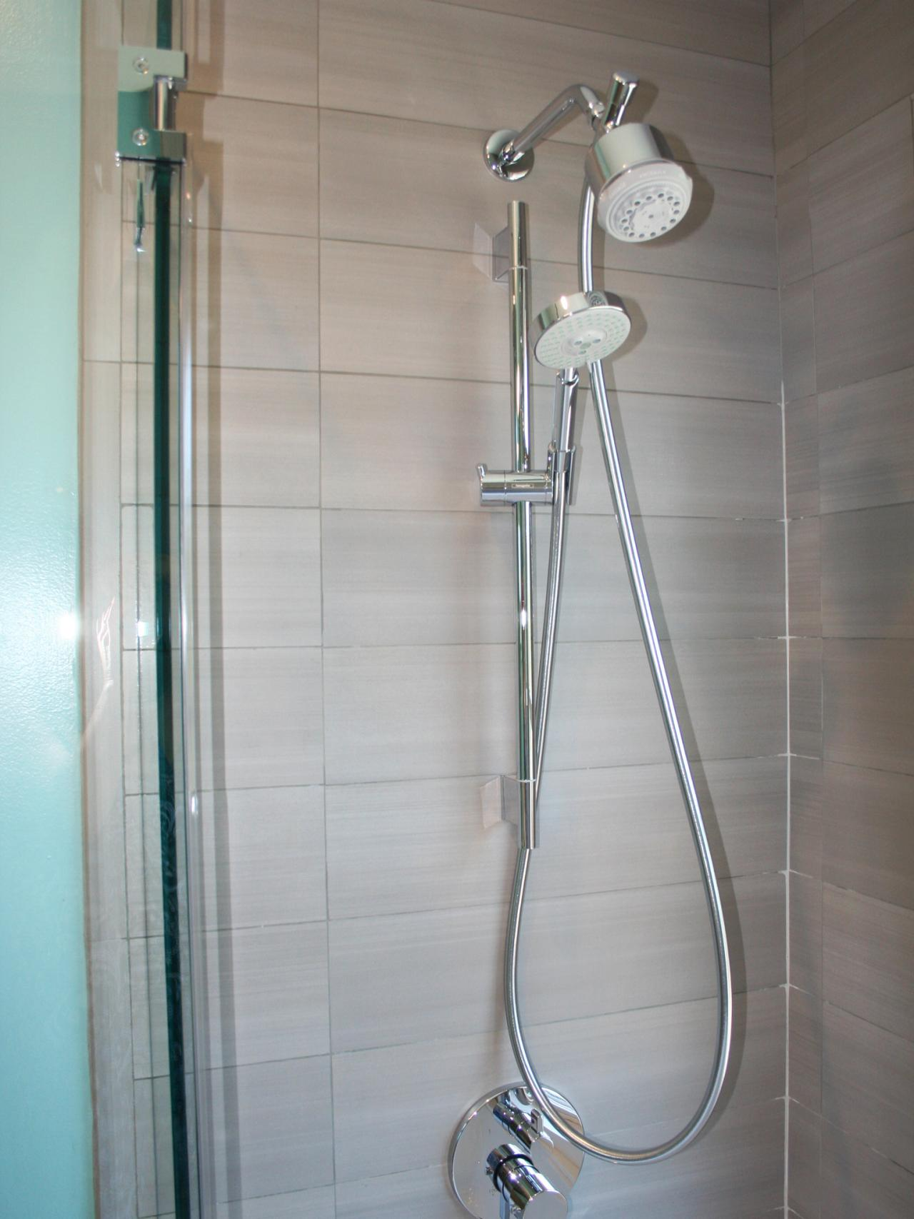 Bathroom showers head - Dual Head Shower System
