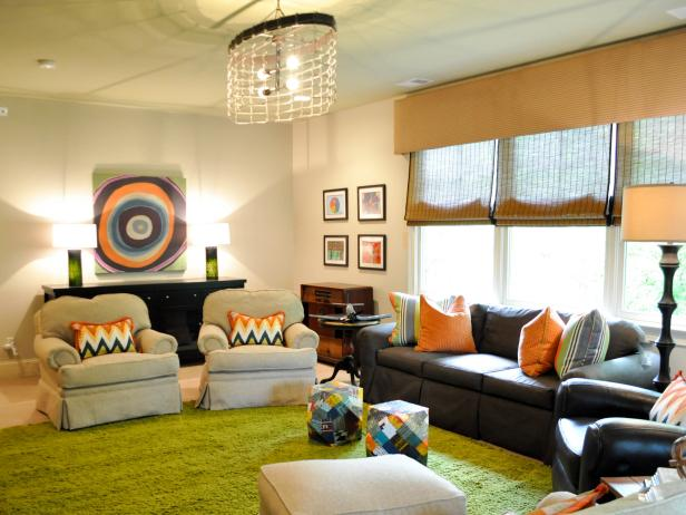 Photo page hgtv for Teenage playroom design ideas
