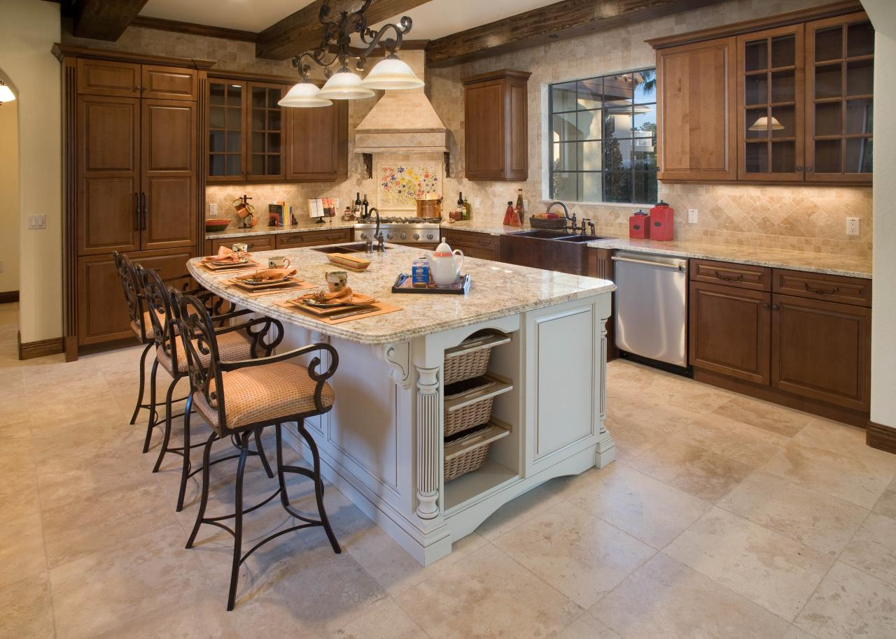Small Kitchen With Island Stove Custom Kitchen Islands Pictures Ideas & Tips From Hgtv  Hgtv