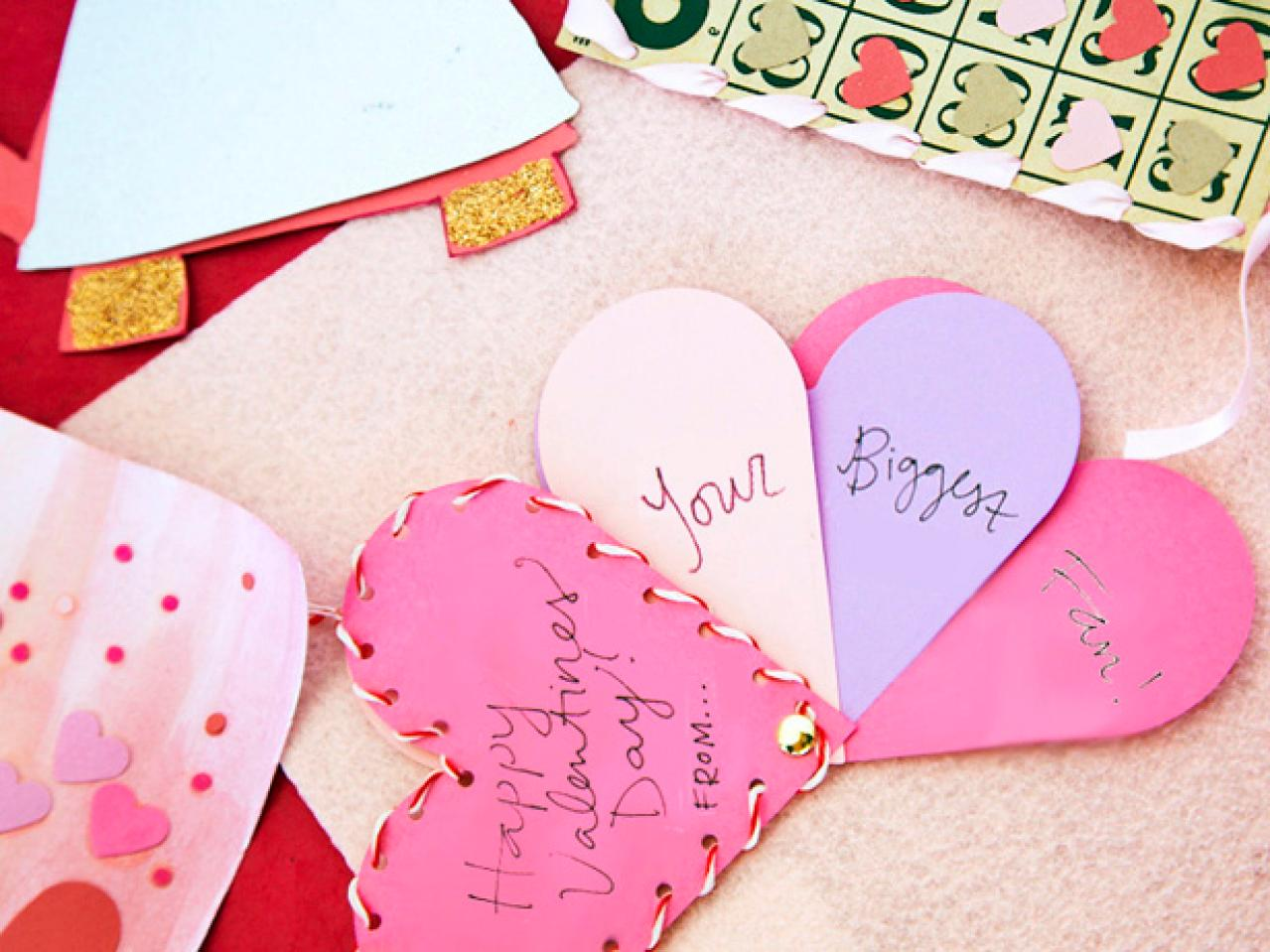 Kids Craft Biggest Fan Valentine – Card Valentine Handmade
