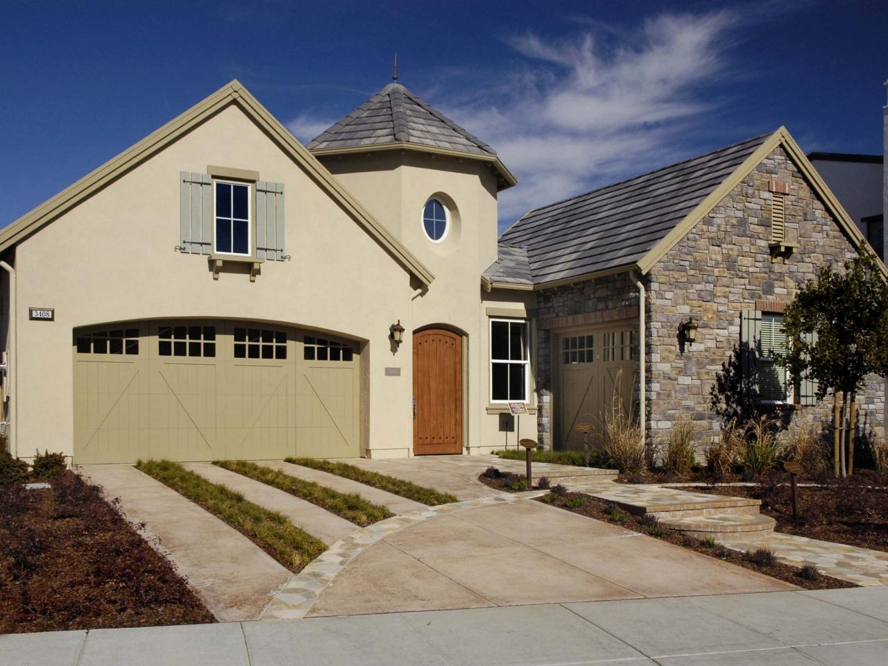 Photos hgtv for French country exterior colors