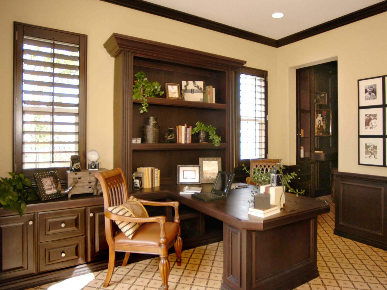 Photos hgtv Home office design images