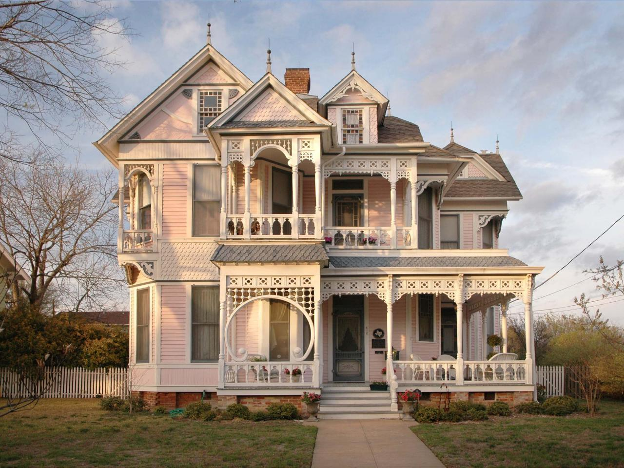 pink victorian photos hgtv