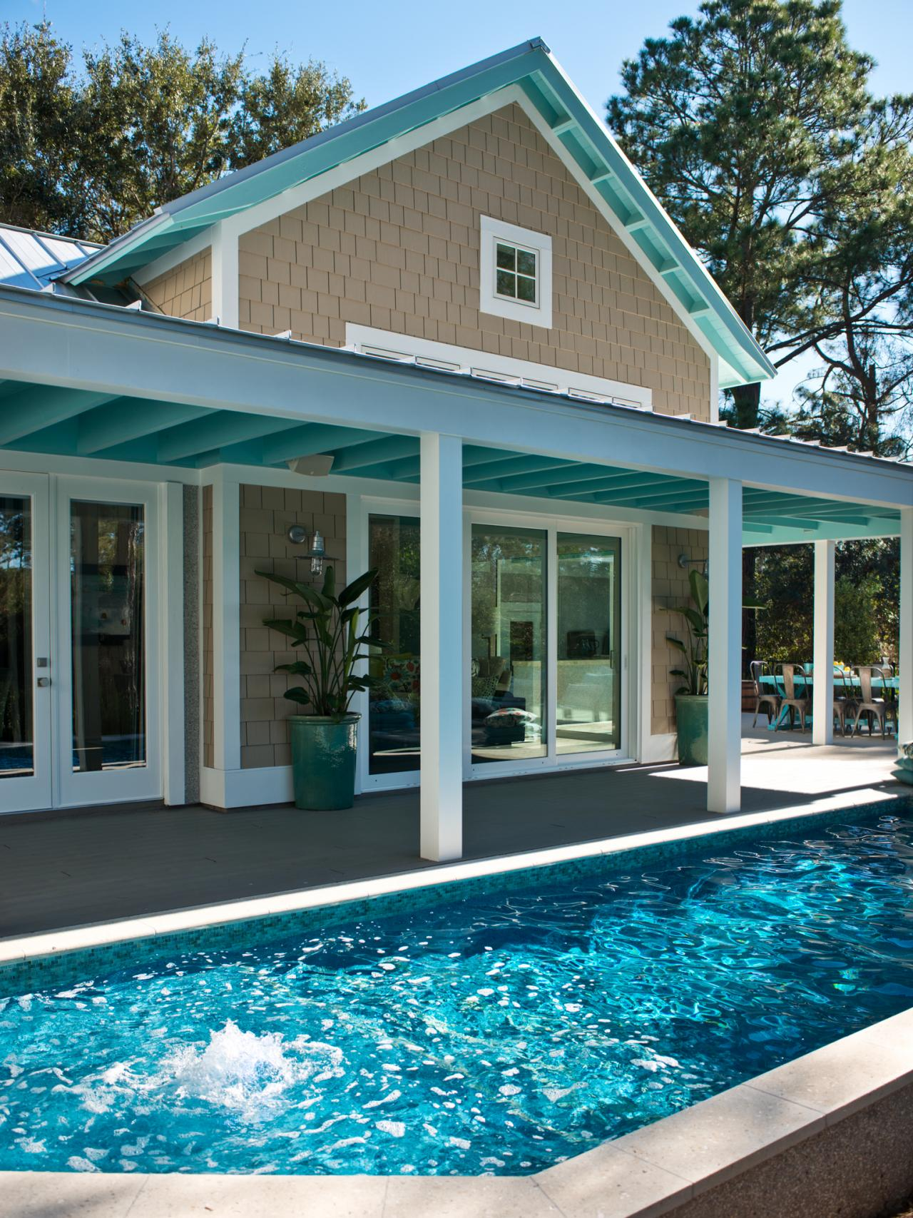 pool from hgtv smart home 2013 hgtv smart home 2013 hgtv. Black Bedroom Furniture Sets. Home Design Ideas