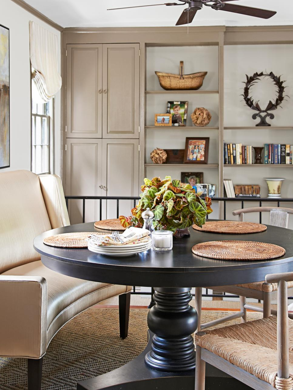 Tour an updated traditional style home hgtv for Dining room 101 heswall