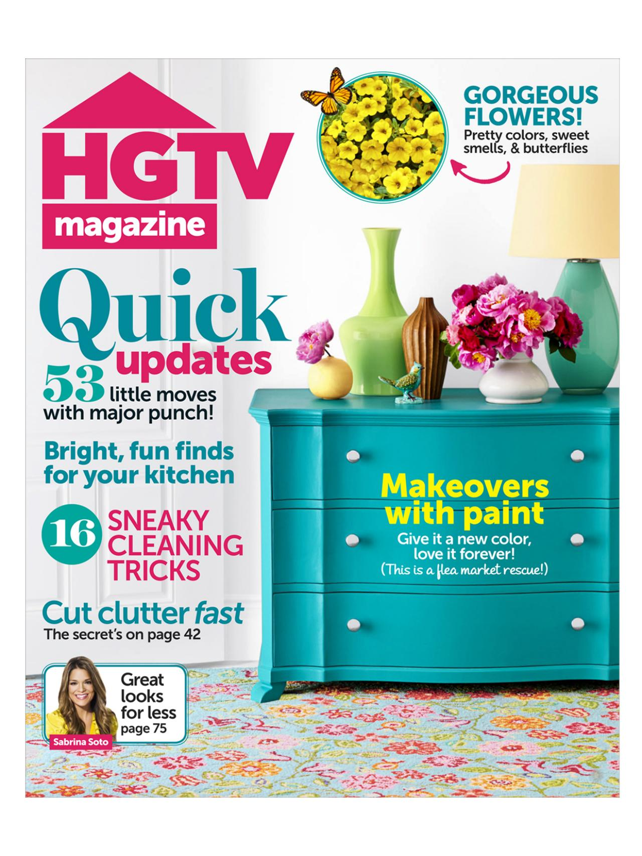 HGTV Magazine: April 2013 | HGTV