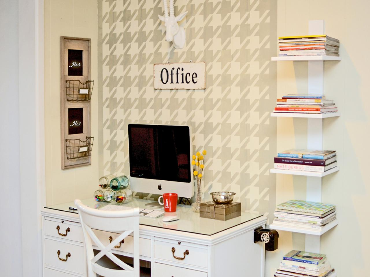 Home office organization quick tips hgtv Organizing home