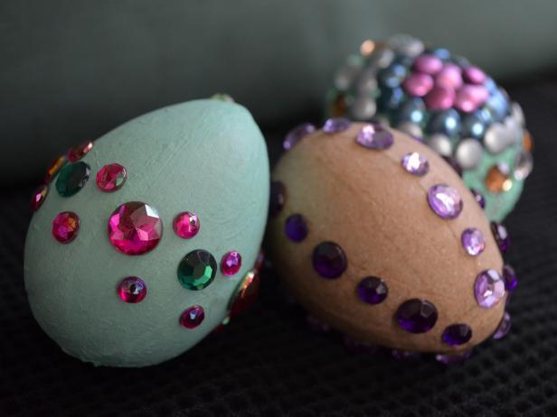 Rhinestone Easter Eggs