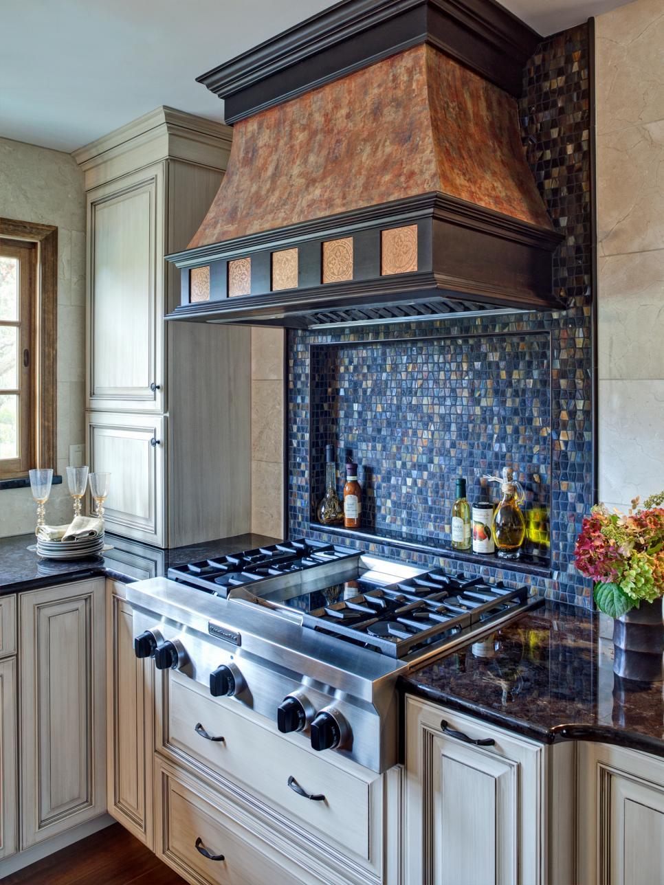 30 trendiest kitchen backsplash materials hgtv stainless steel backsplashes kitchen designs choose