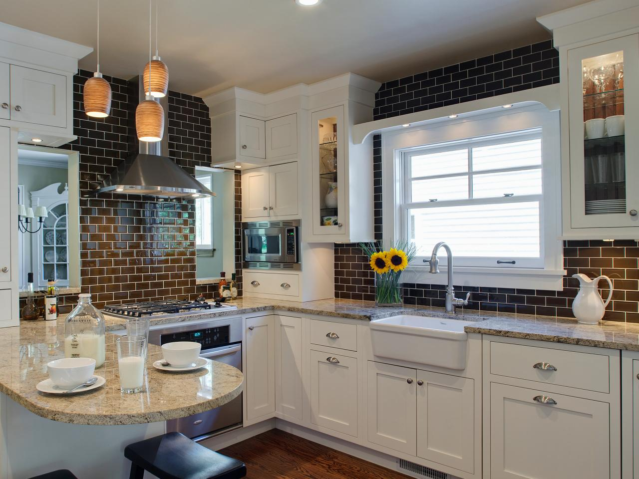stone honed marble - Tile Kitchen Backsplash