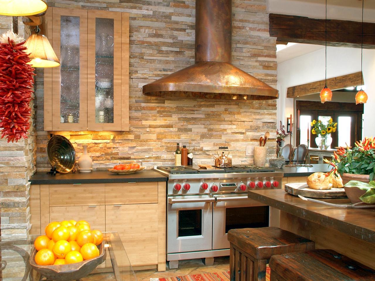 Uncategorized Kitchens With Stone Backsplash kitchens with stone backsplash mosaic backsplashes pictures ideas tips from hgtv hgtv