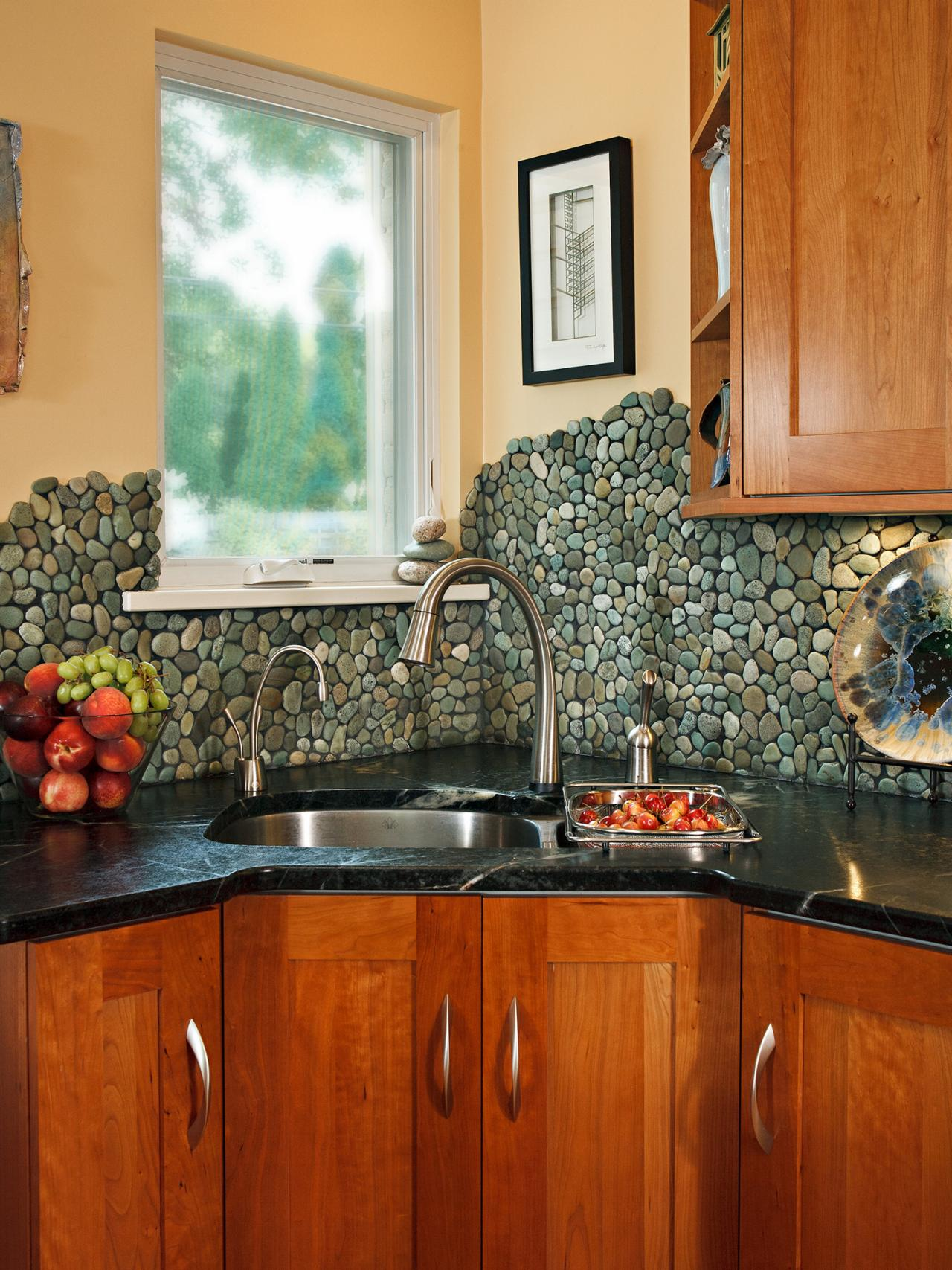 Kitchen Backsplash Idea mosaic backsplashes: pictures, ideas & tips from hgtv | hgtv