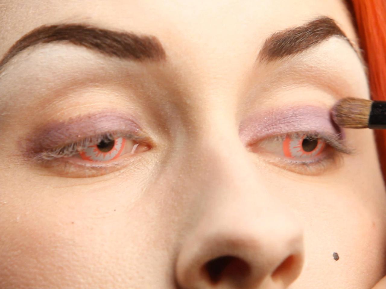 Eye Shadow Base For Your Glam Dark Fairy Halloween Costume