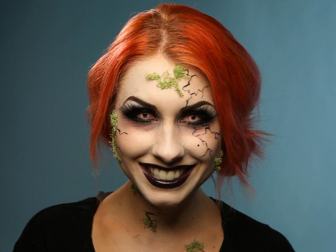 Adult Halloween Makeup Tutorial: Glam Dark Fairy | HGTV