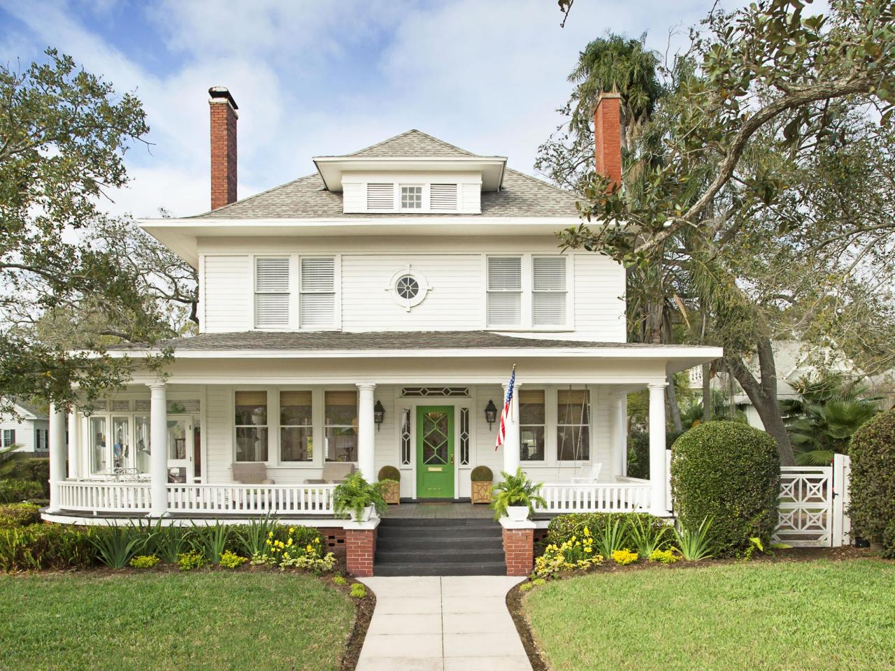 1908 House with A Wraparound Porch