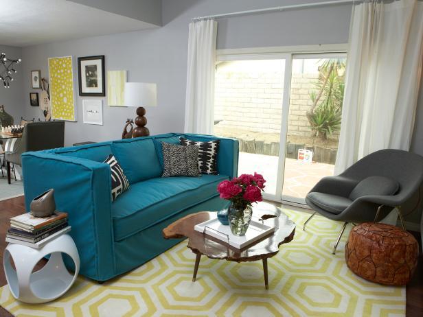 Modern Funk Living Room