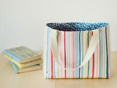 Easy-Sew Tote Bag
