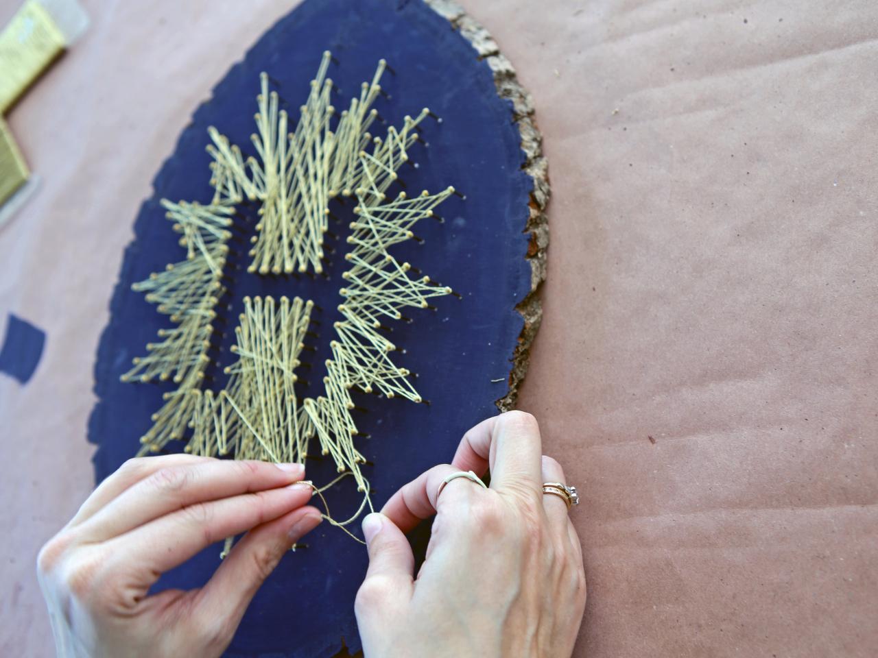 yarn art color garden : Finish String