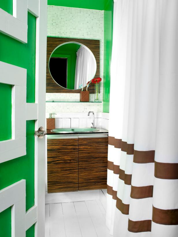 Green Bathroom Color Ideas bathroom color and paint ideas: pictures & tips from hgtv | hgtv