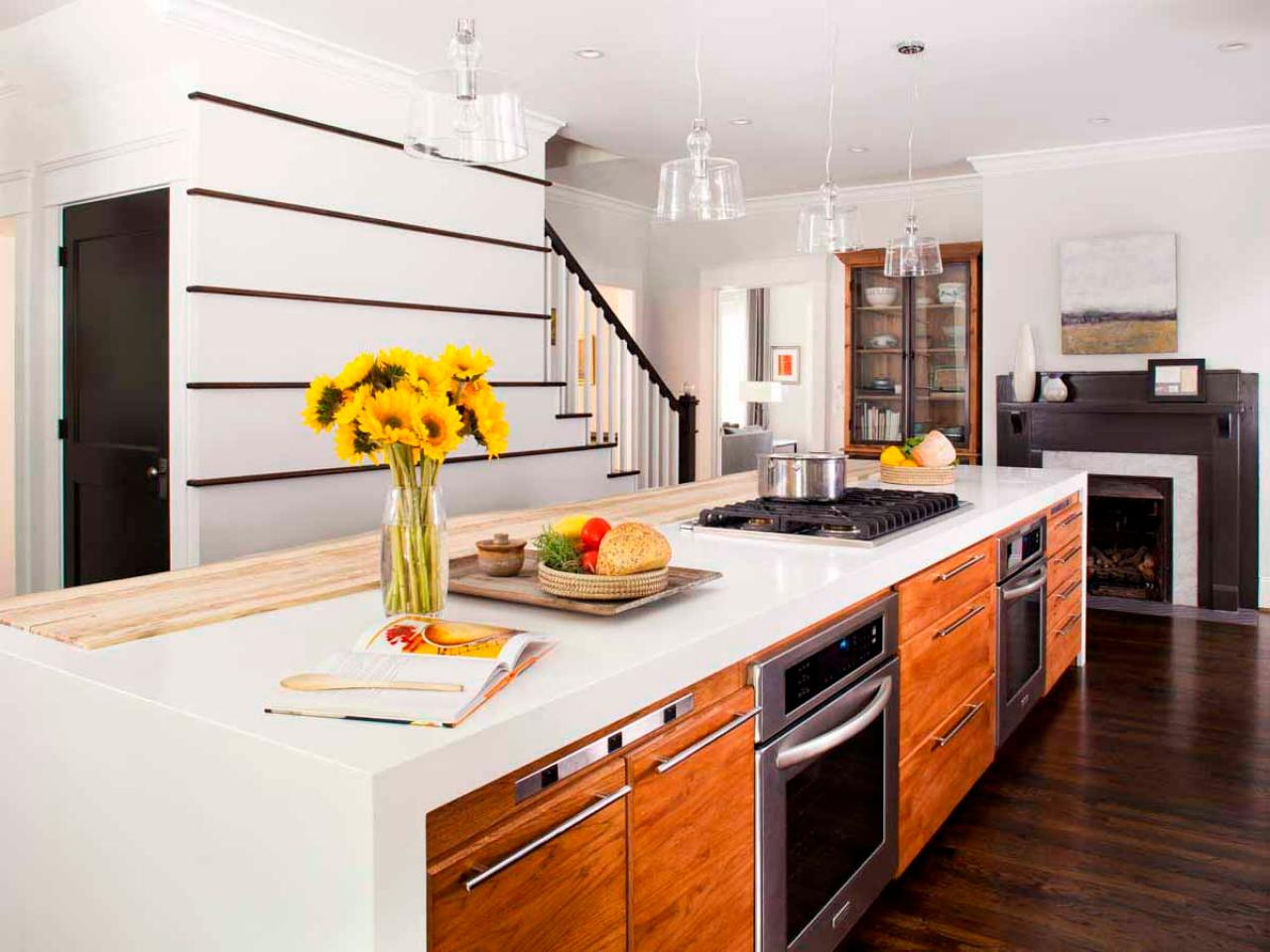 Extra Long Kitchen Island photo page | hgtv