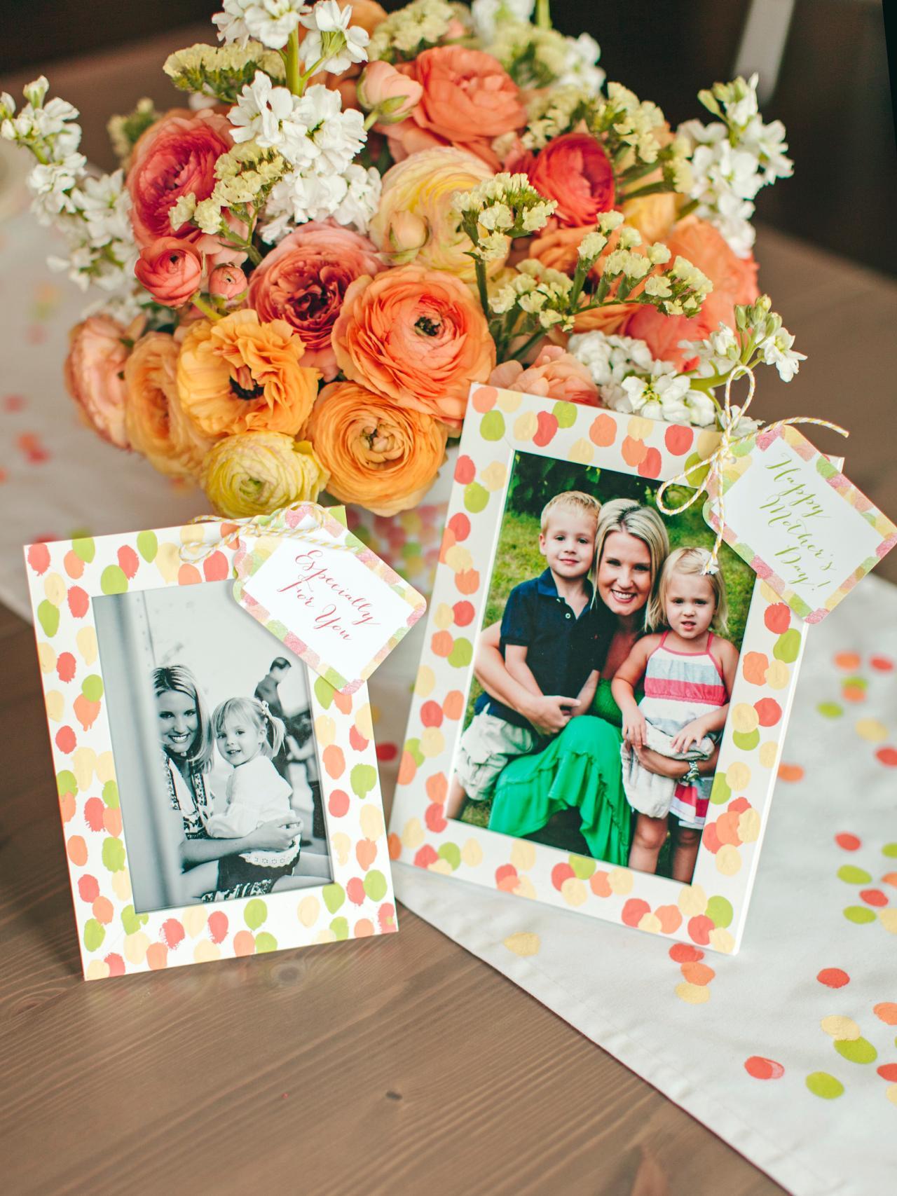 mothers day fingerprint frame - Mothers Day Picture Frame