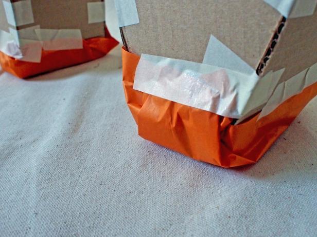 Attach Tissue Paper