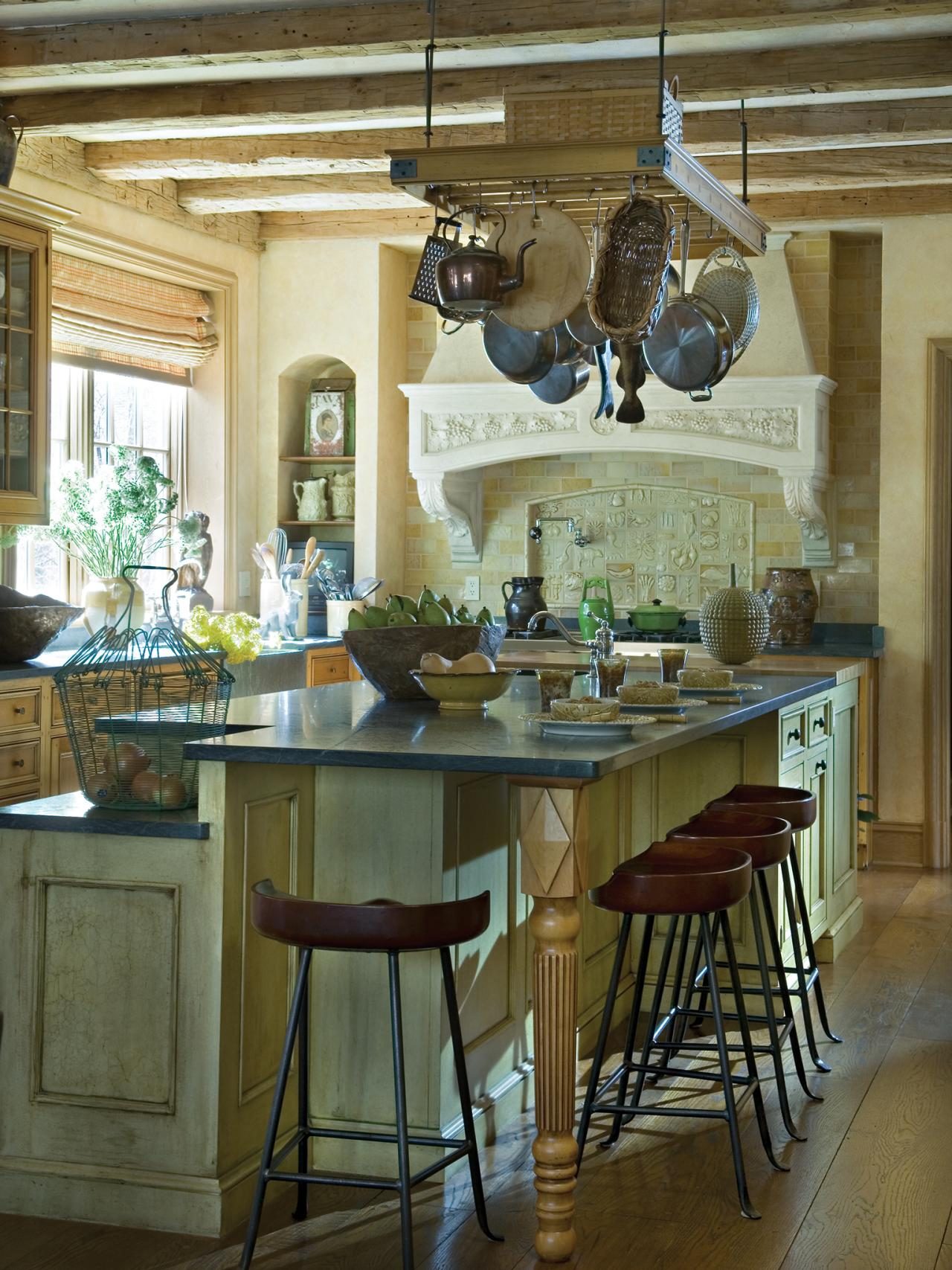 Small Kitchen Island Ideas & Tips From HGTV