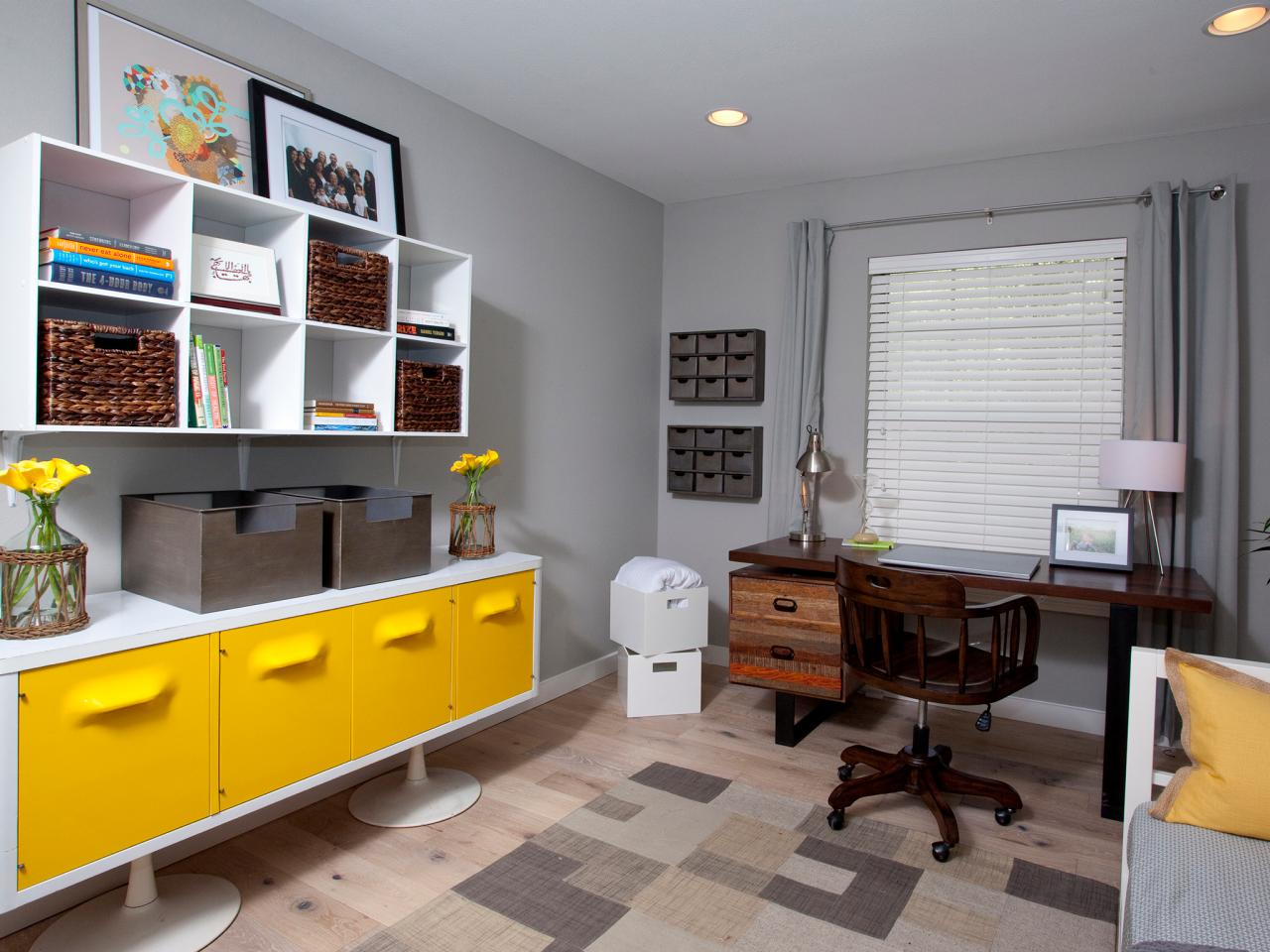 Yellow and Gray Decor | ALLURE INTERIORS