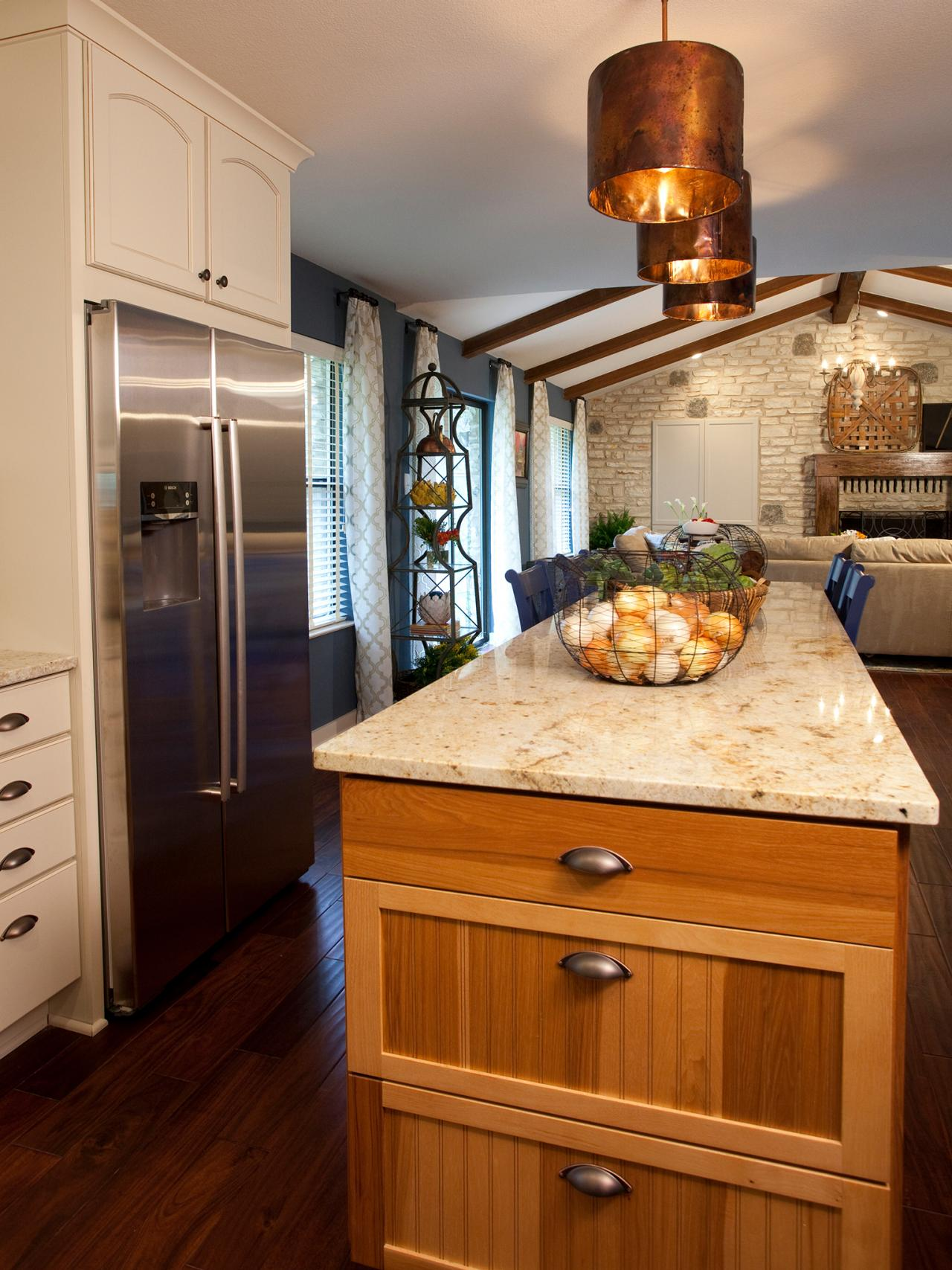 Open Kitchen Designs With Island kitchen island design ideas: pictures & tips from hgtv | hgtv
