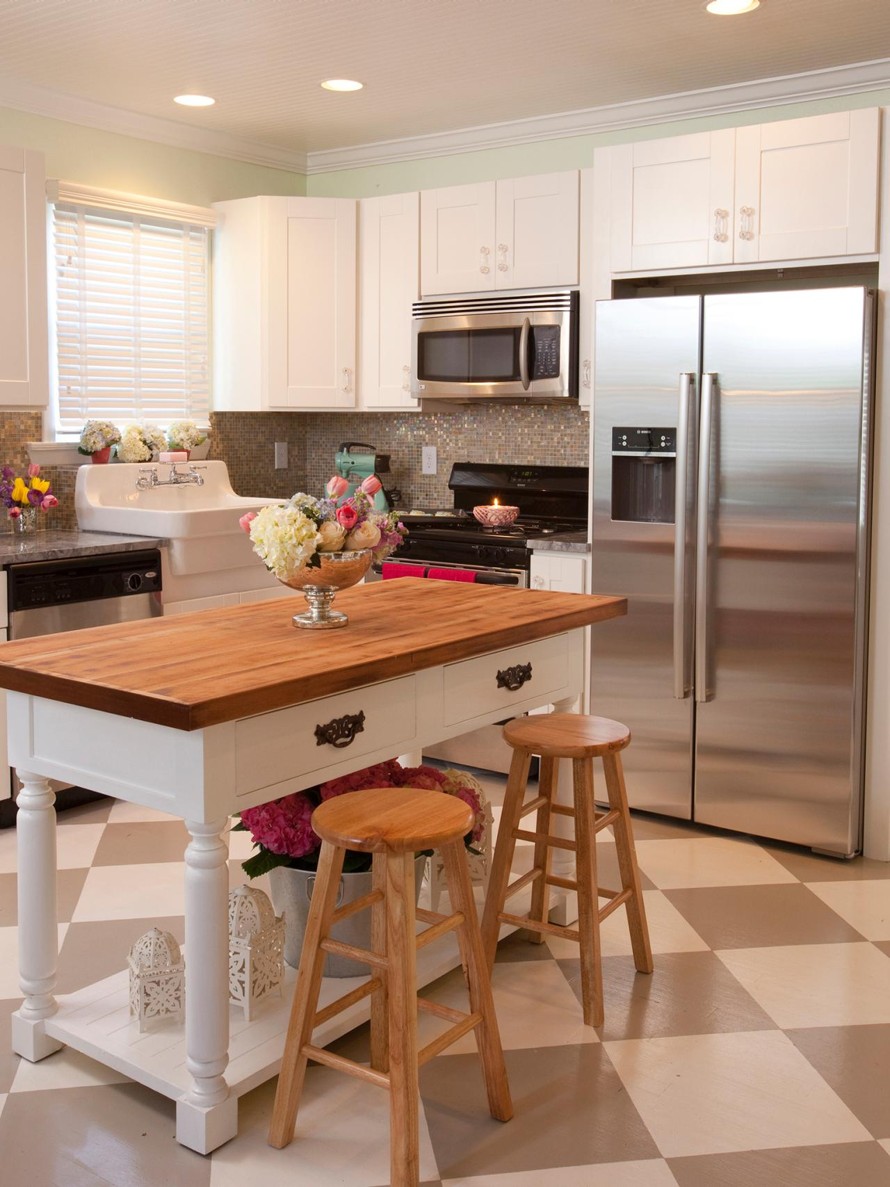 Island Kitchen Designs Layouts small kitchen layouts: pictures, ideas & tips from hgtv | hgtv