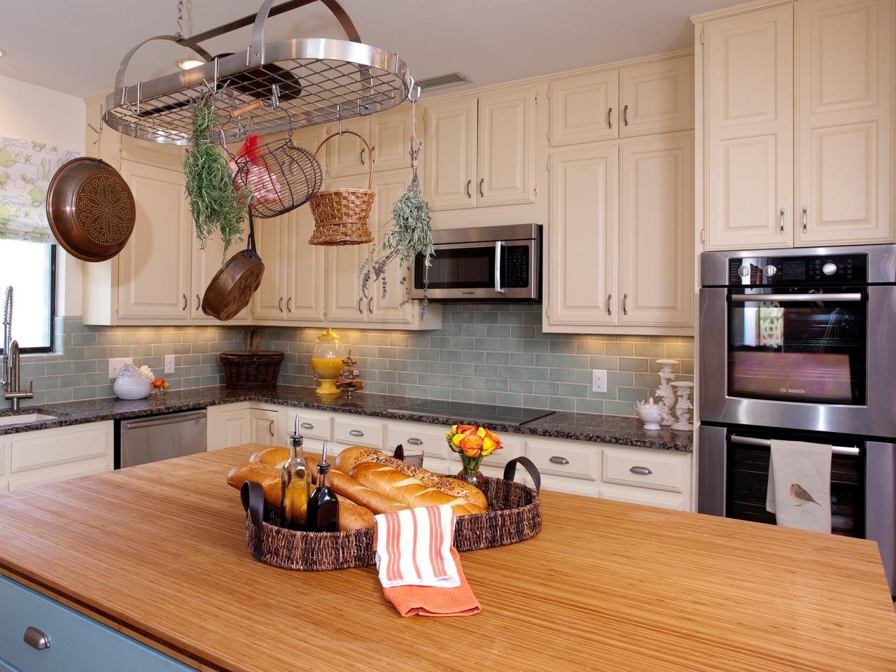 Kitchen Island Top Ideas kitchen island countertops: pictures & ideas from hgtv | hgtv