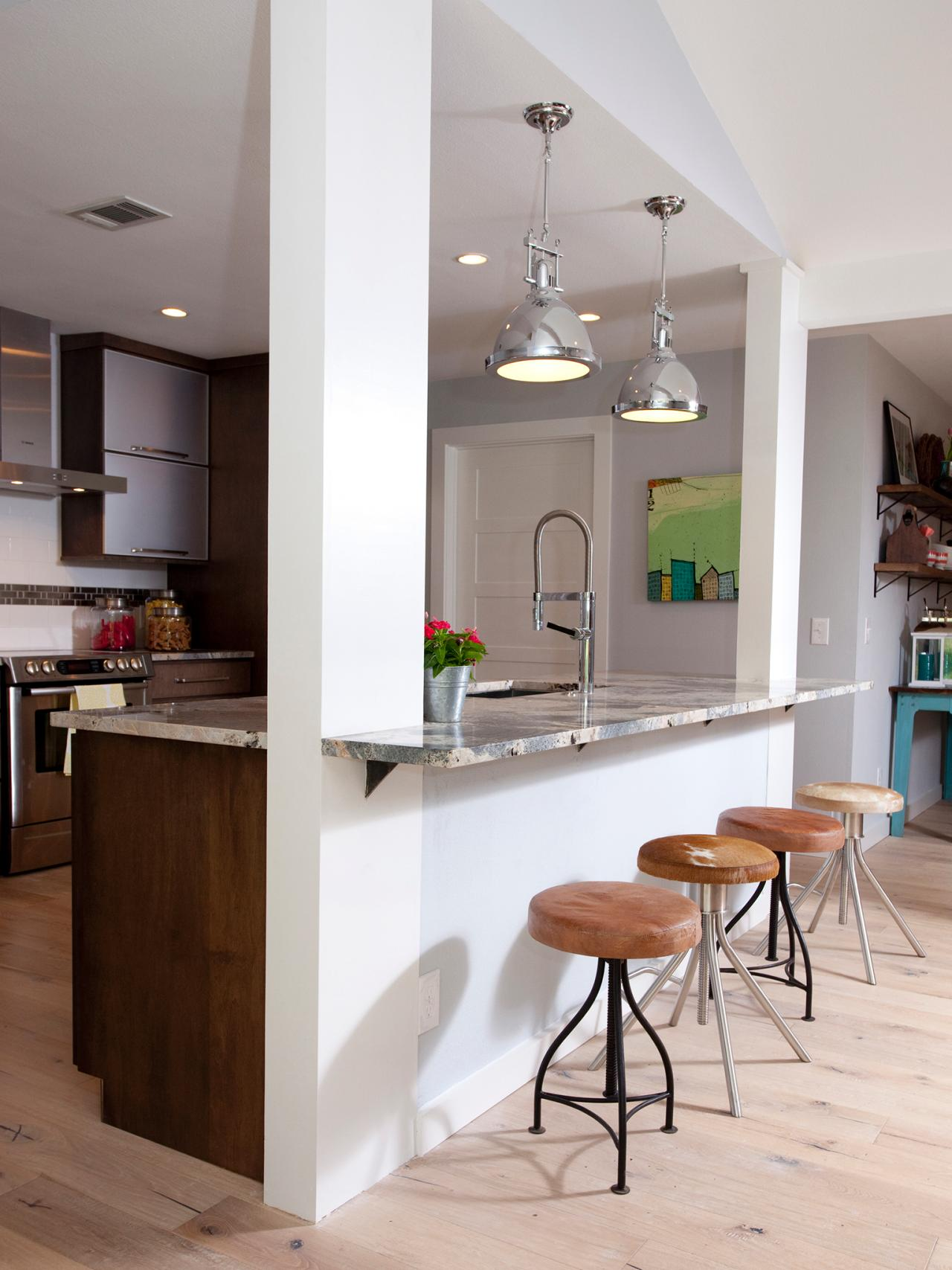 Small Kitchen Spaces small kitchen layouts: pictures, ideas & tips from hgtv | hgtv