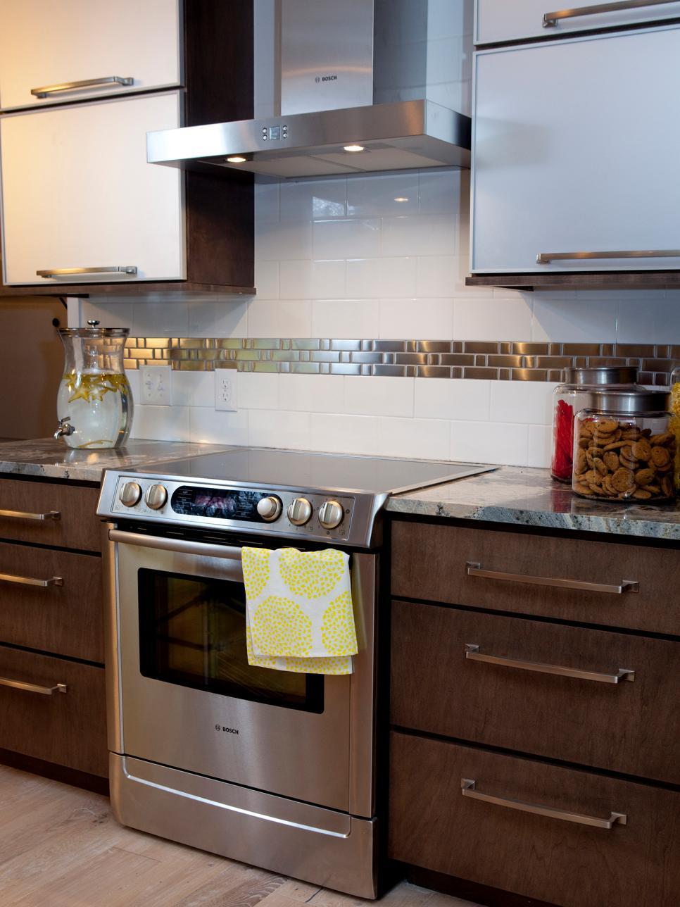 Kitchen Stove Backsplash Ideas Pictures Tips From Hgtv: 11 Creative Subway Tile Backsplash Ideas
