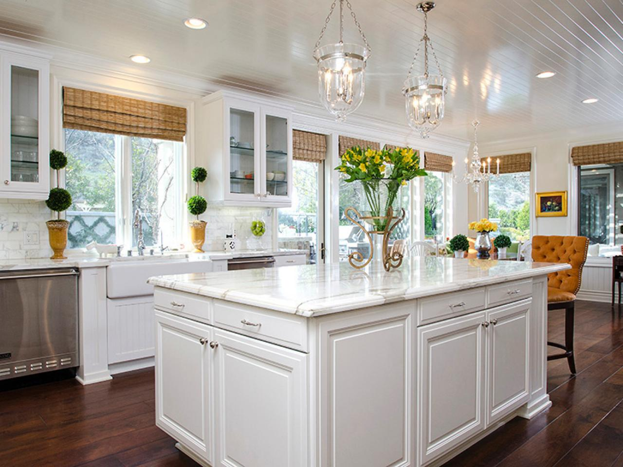 Kitchen Valance Ideas Prepossessing Kitchen Window Treatment Valances Hgtv Pictures & Ideas  Hgtv Decorating Design