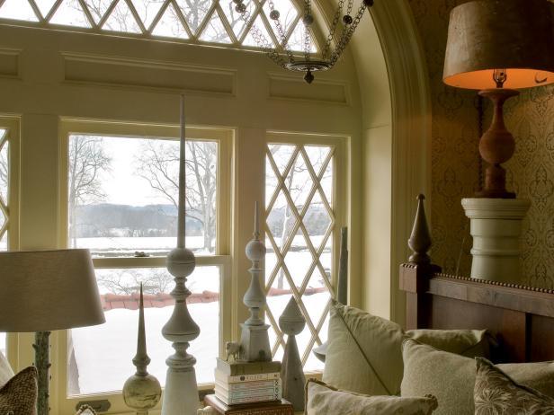 Arched Window in Storybook Kids Bedroom