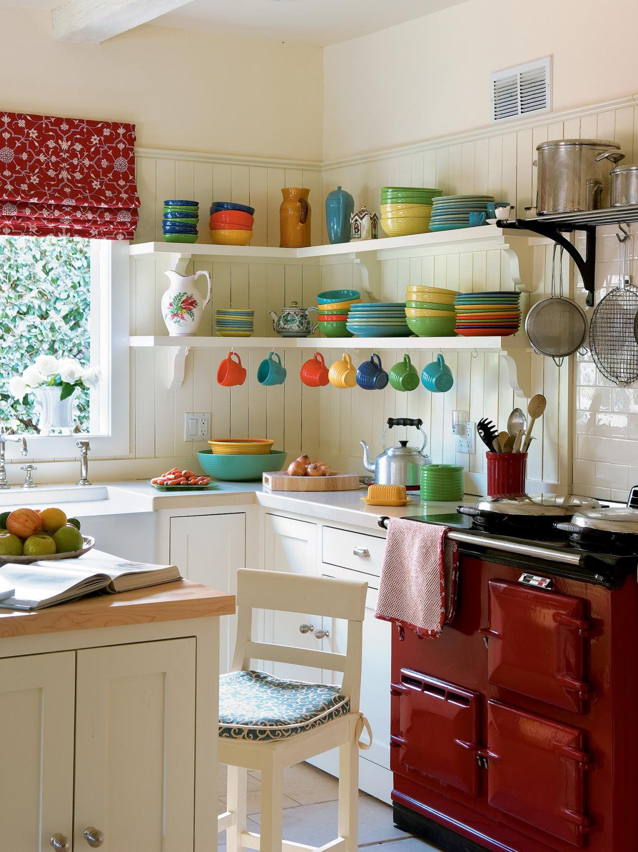 Small Galley Kitchen Storage Ideas small kitchen layouts: pictures, ideas & tips from hgtv | hgtv