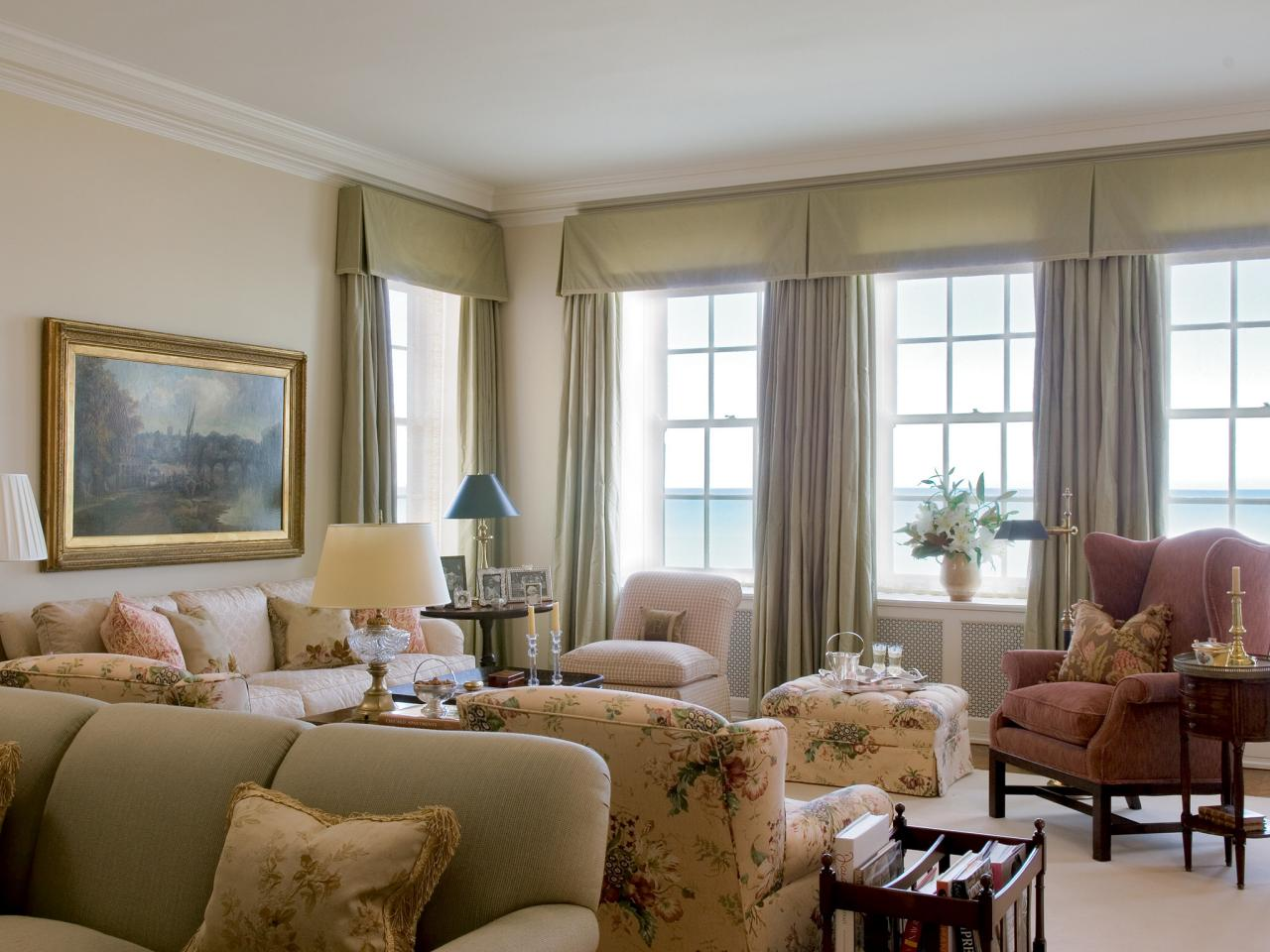 Photos hgtv for What is a window treatment