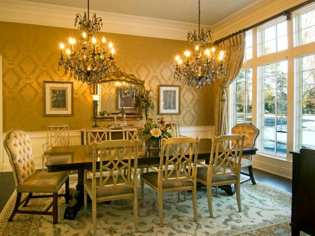 Photo page hgtv Victorian dining room colors