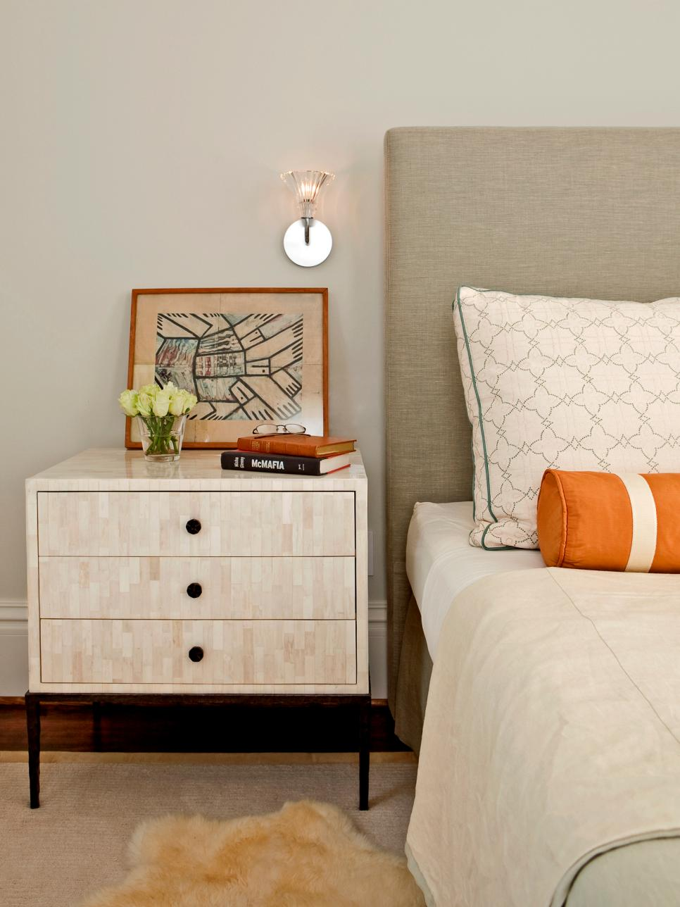 . Tips for a Clutter Free Bedroom Nightstand   HGTV