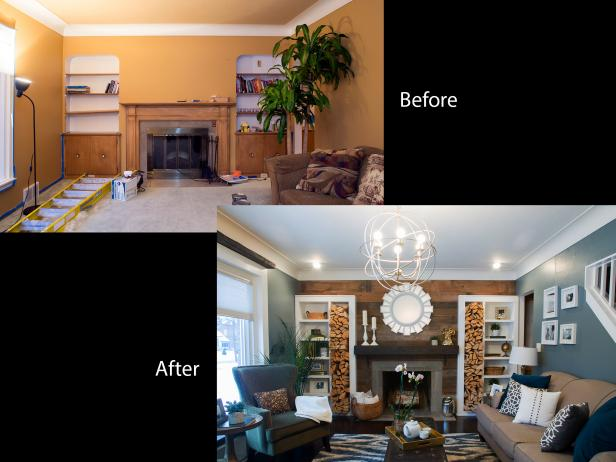Living Room Renovation Before And After renovation raiders: stealth remodeling | hgtv's renovation raiders
