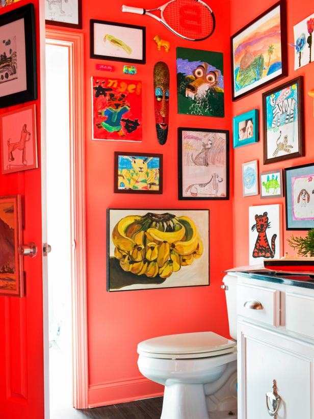 Bathroom Art Gallery