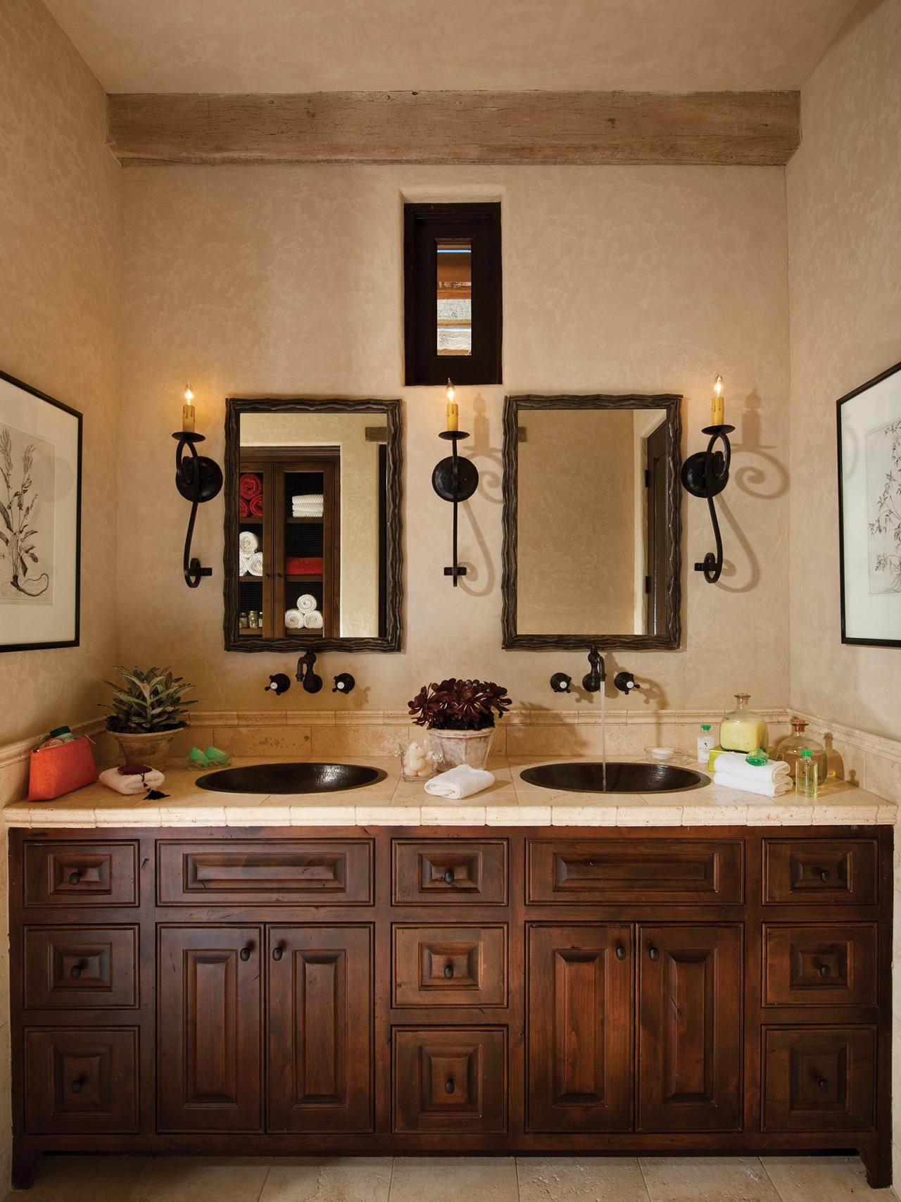mediterranean bathroom photos hgtv
