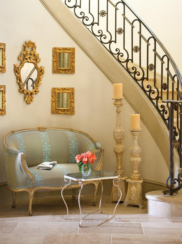 Foyer Sitting Area : Photo page hgtv