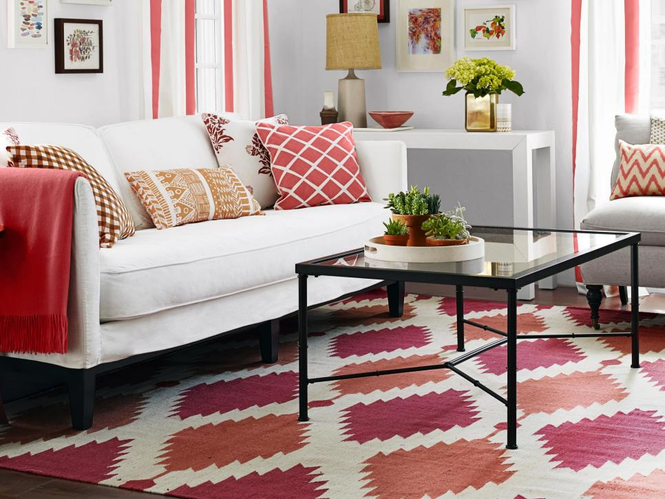 One Living Room, 3 Bold Styles | HGTV