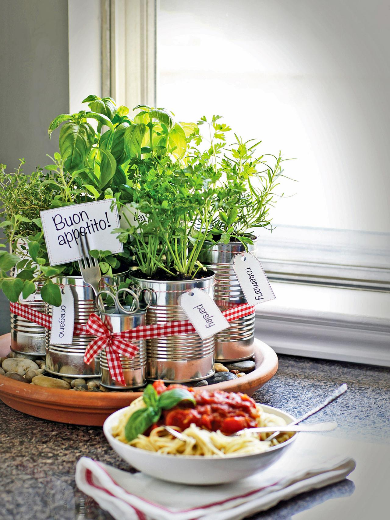 Indoor Kitchen Herb Garden Kit Grow Your Own Kitchen Countertop Herb Garden Hgtv