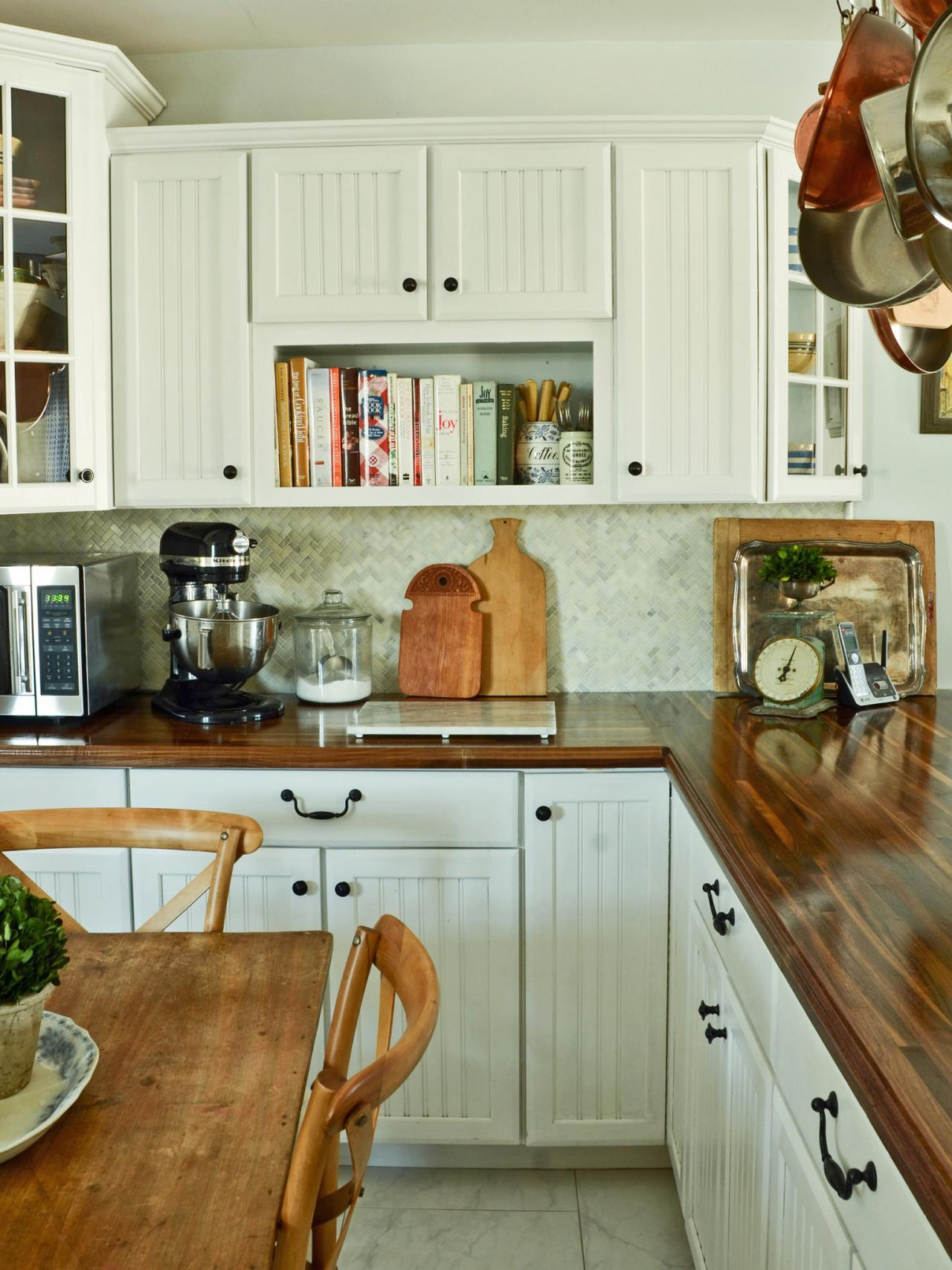 Do-It-Yourself Butcher-Block Kitchen Countertop HGTV