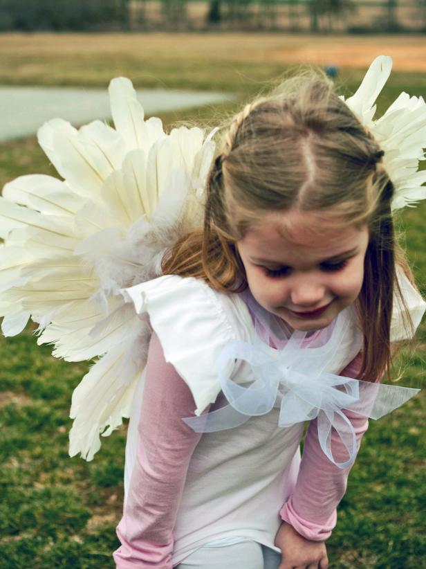 Feathered Wings Costume