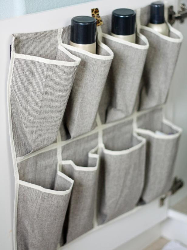 Shoe Caddy Provides Storage for Toiletries